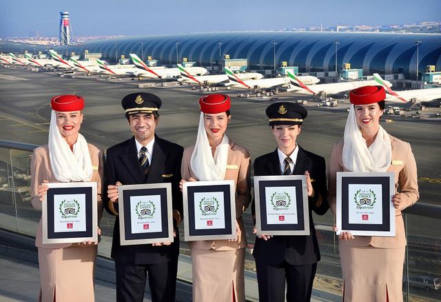 Összesen öt díjat, köztük a fődíjat hozta el a megmérettetésről az Emirates