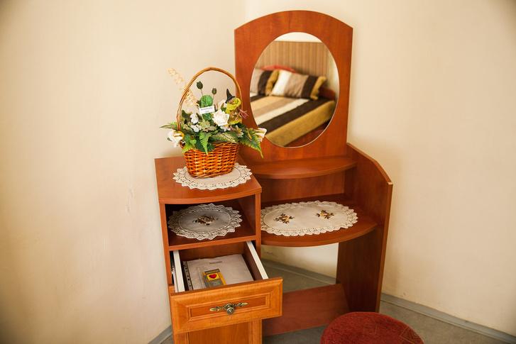 Intimszoba a ricsei pszichiátriai otthonban.