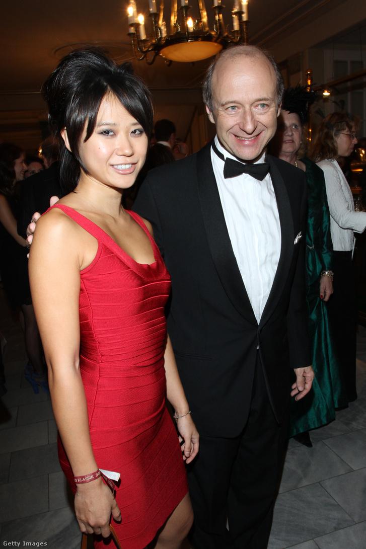 Yuja Wang és Fischer Iván