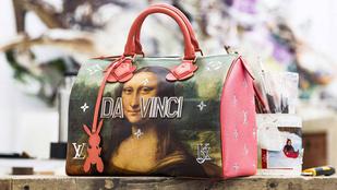 Cicciolina exférje táskákat tervezett a Louis Vuittonnak