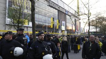 Robbanás volt a Dortmund BL-meccse előtt, egy futballista megsérült