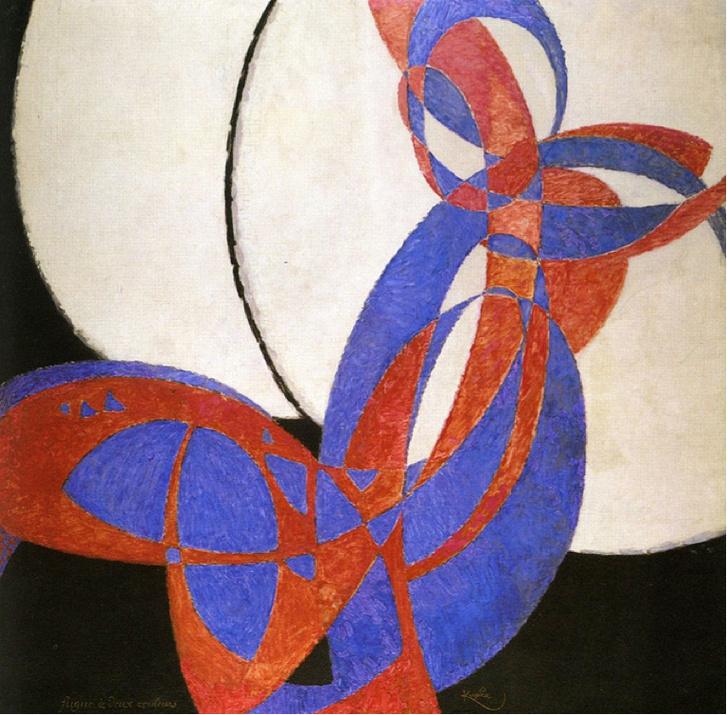 František Kupka, 1912, Amorpha, fugue en deux couleurs (Fugue in
