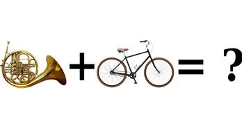 A nap kérdése: Tud-e egy rezesbanda biciklin ülve játszani?