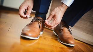 Ezért kötődik ki a cipőfűzőnk
