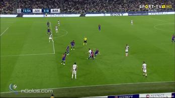 A Barca örülhet, a Juve is berúgta a negyediket, mint a PSG