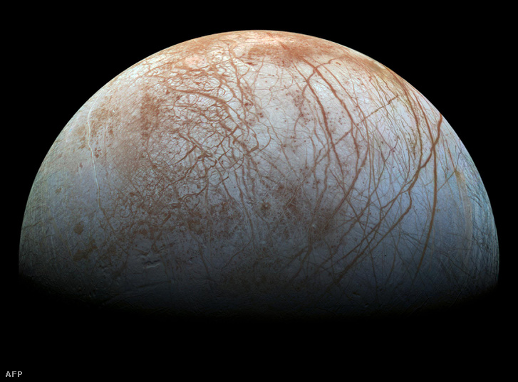A Jupiter jeges holdja, az Europé