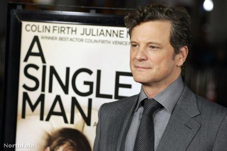 Colin Firth a Single Man premierjén