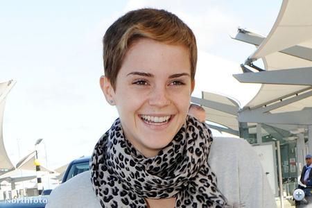 Emma Watson rövid haja 2010 szeptemberében