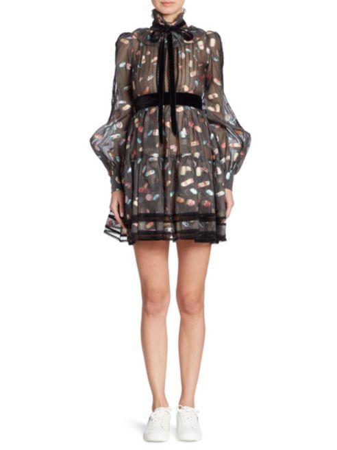Marc Jacobs is elsütötte a gyógyszer mintát a szezonban. Egy ilyen áttetsző ruháért körülbelül 822 ezer forintot kell fizetni a luxus webáruházakban.