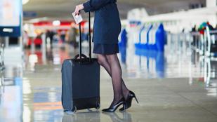 Pakolj úgy, mint a pilóták és stewardessek!