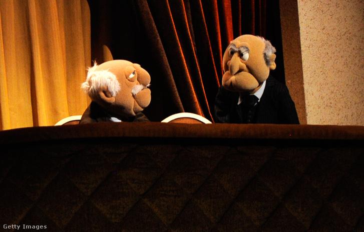Statler és Waldorf a Muppet Showból