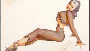 A Playboy előtt ilyen szexi poszterlányokra volt ráizgulva Amerika