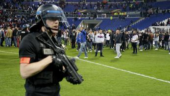 Balhé miatt csúszott a Lyon-Besiktas EL-meccs