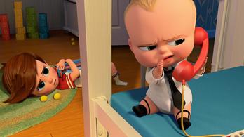 Szórakoztat az öltönyös kisbaba, de nem érint meg
