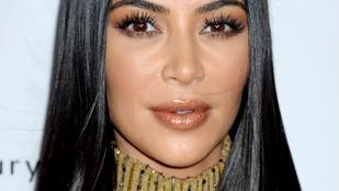 Kim Kardashian talán még soha nem nézett ki ennyire jól
