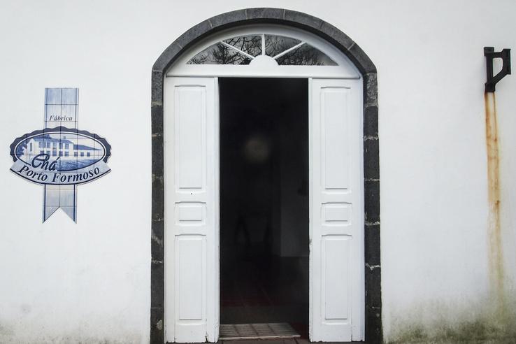 A másik teagyár, a Chá Porto Formoso néhány kilométerrel odébb fekszik