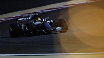 Két másodpercet javult a Mercedes a sivatagban