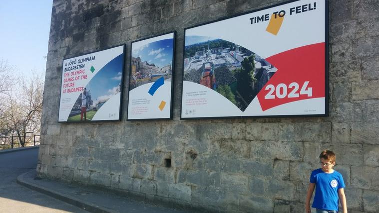 A Citadellánál még tart az olimpiai álom