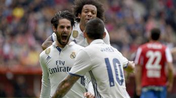 Isco szuperszólóval és 90. perces góllal vezette a Real B-t