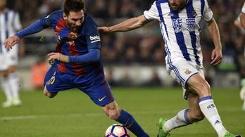 Kínkeserves győzelem: 3-2 a Barca-Sociedad