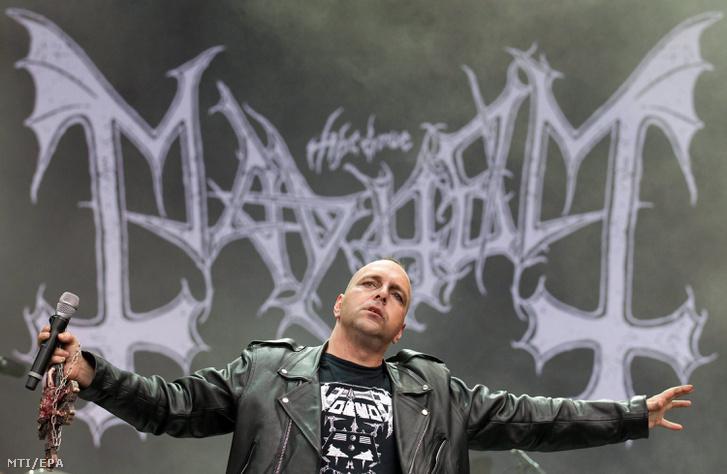 Csihar Attila 2011-ben a Wacken fesztiválon