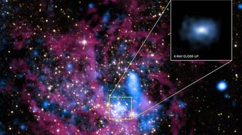 Lefotózták a galaxisunk közepén trónoló fekete lyukat