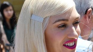 A nap képén az alig felismerhető Gwen Stefani látható