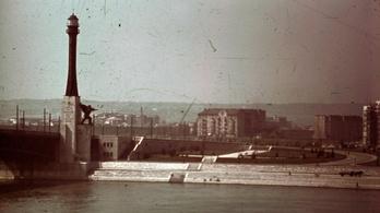 Budapesten is állt világítótorony