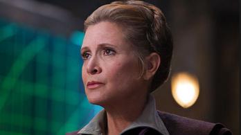 Mégsem szerepel Carrie Fisher a Star Wars 9-ben