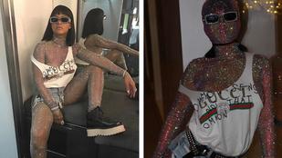 Rihanna 2,4 milliós Gucci szettben mulatott a Coachellán