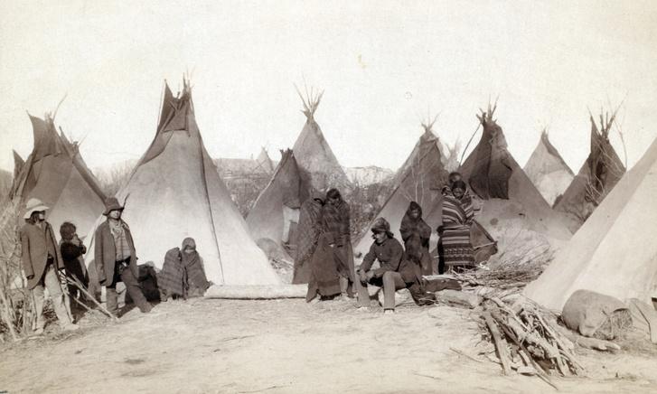 Pine Ridge rezervátum, 1890-es évek