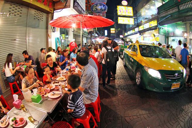 A bangkoki Chinatown
