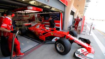 Hamilton élen, Vettel 12 órán át vezeti a Ferrarit