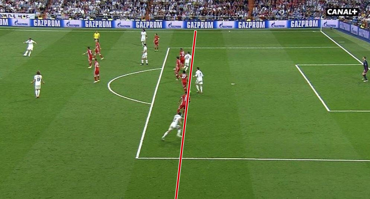 Cristiano Ronaldo gólja a 2-2-höz, a les pillanata