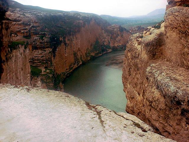 A Tigris folyó Hasankeyf közelében