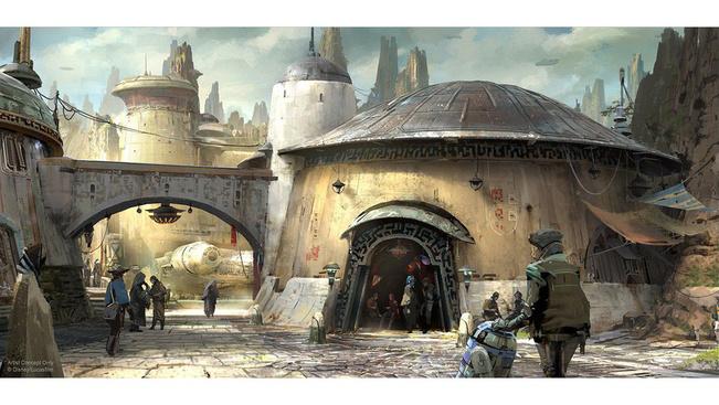 Újabb elképesztő részletek a Disneyland Csillagok háborúja-részlegéről