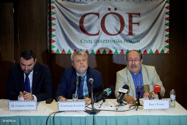 Belföldről finanszírozott szervezet a békemeneteket is szervező CÖF