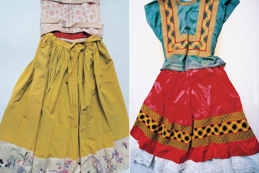 Frida Kahlo imádta a színes népviseletet.