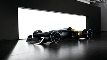 A Renault is bemutatta a jövő F1-szörnyét