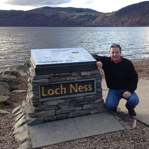 Gary Campbell, a Loch Ness-i szörny hivatalos rajongói klubjának elnöke
