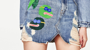 Rasszista békás szoknyát árul a Zara