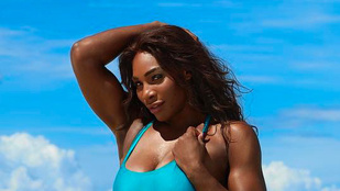 Serena Williams terhes