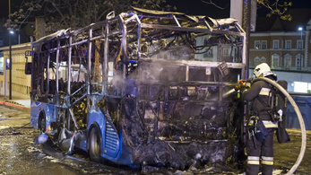 Miért égett porrá a török BKV-busz?