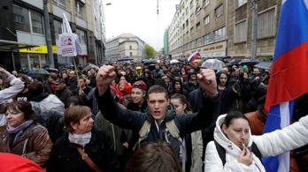 Jogukban áll tüntetni - így kommentálta a miniszter a demonstrációt