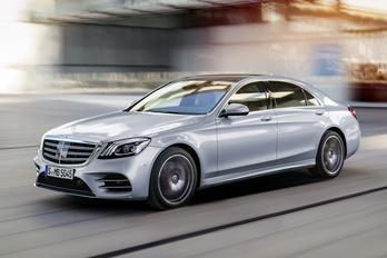 Új motorokat kap a Mercedes S osztály