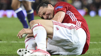 Durván megsérült Zlatan Ibrahimovic
