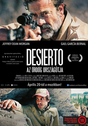 Desierto B1 HUN-poster