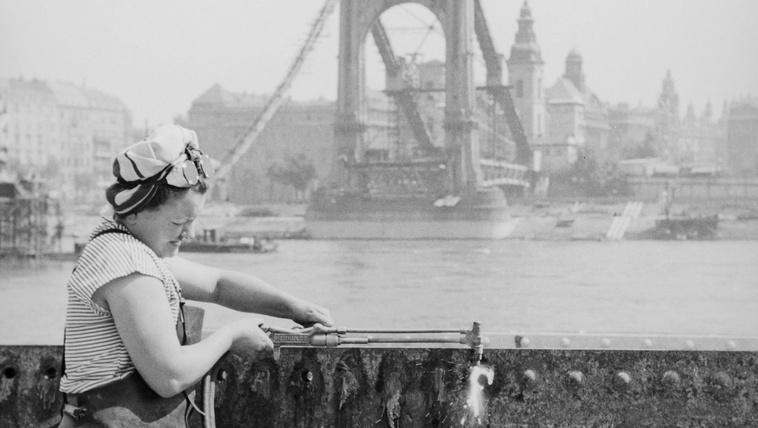 A Fortepan és a Budapest100 bemutatja: a rakpart 24 képben