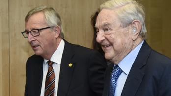 Sorossal találkozik Juncker a CEU miatt Brüsszelben