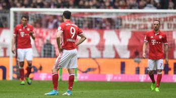 Otthon égett a Bayern a BL-kiesés után
